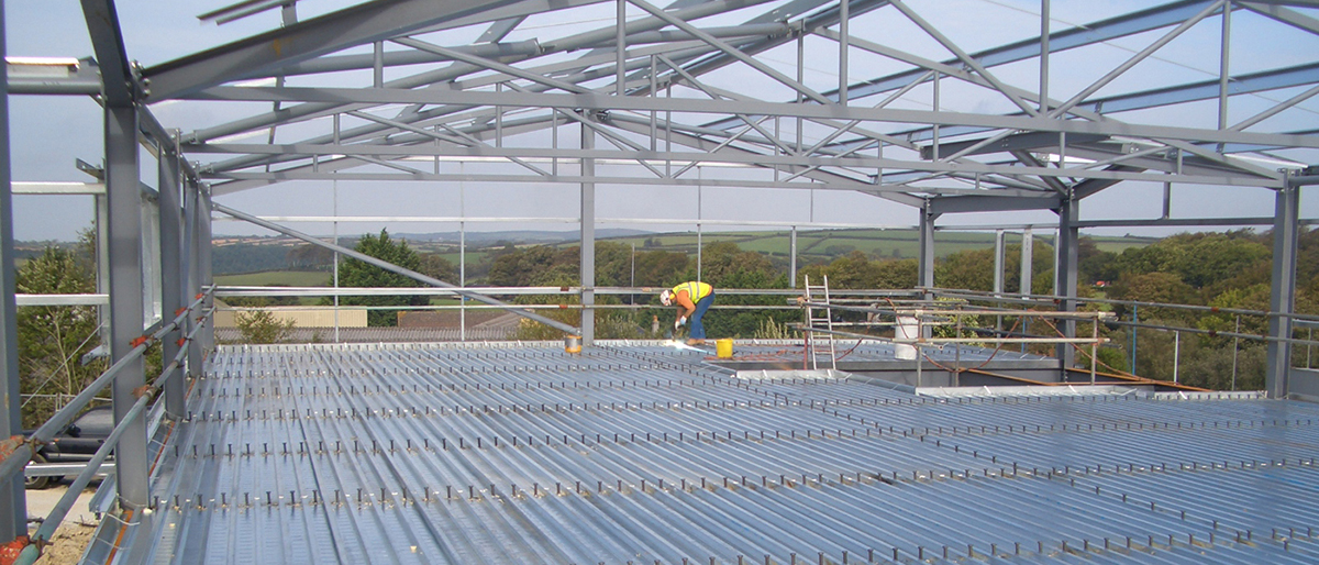 Metal Decking Structure